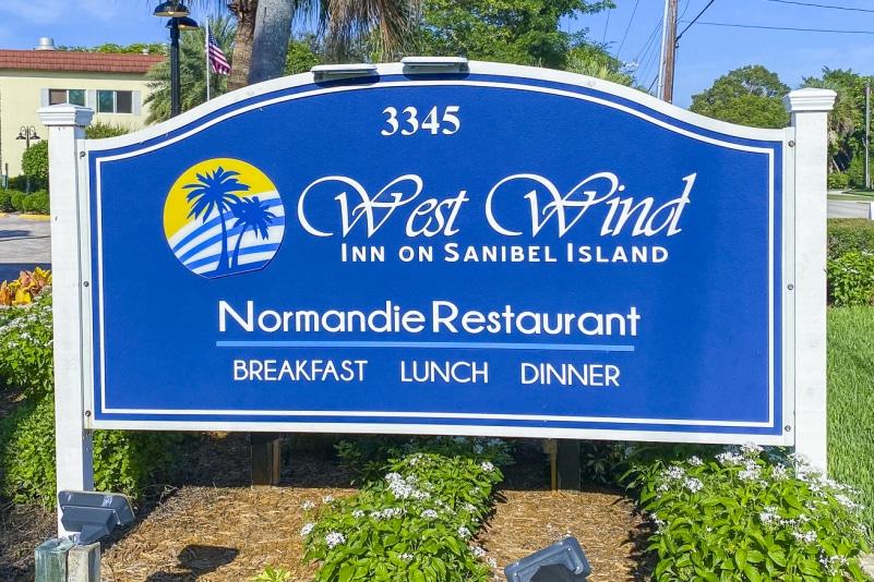 Normandie Cafe at West Wind Inn Sanibel Island