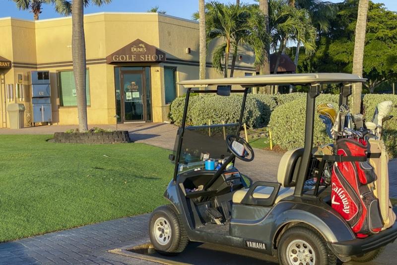 Dunes Golf Club, sanibel island