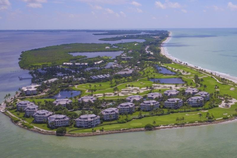 South seas Resort on Captiva Island in Florida