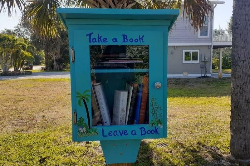 Little Library on Sanibel Island