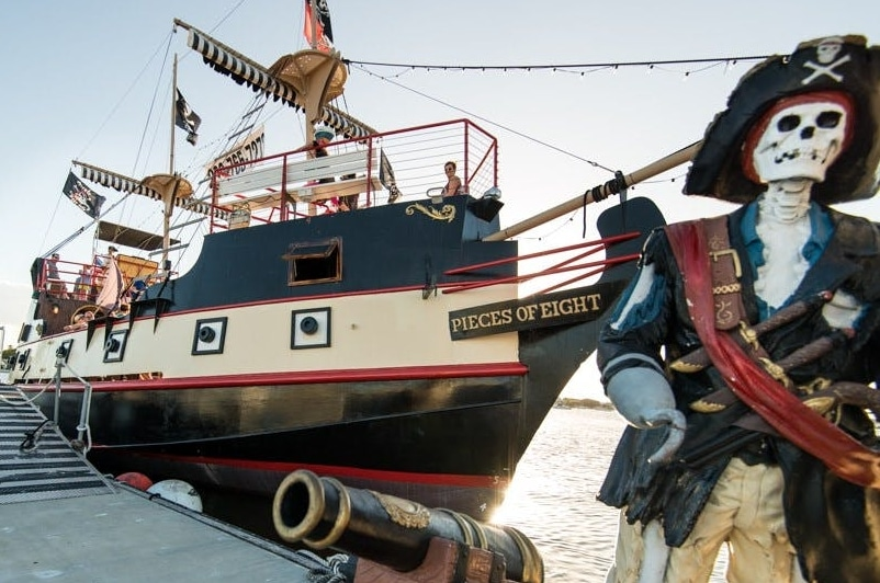 Salty Sama Pirate Ship